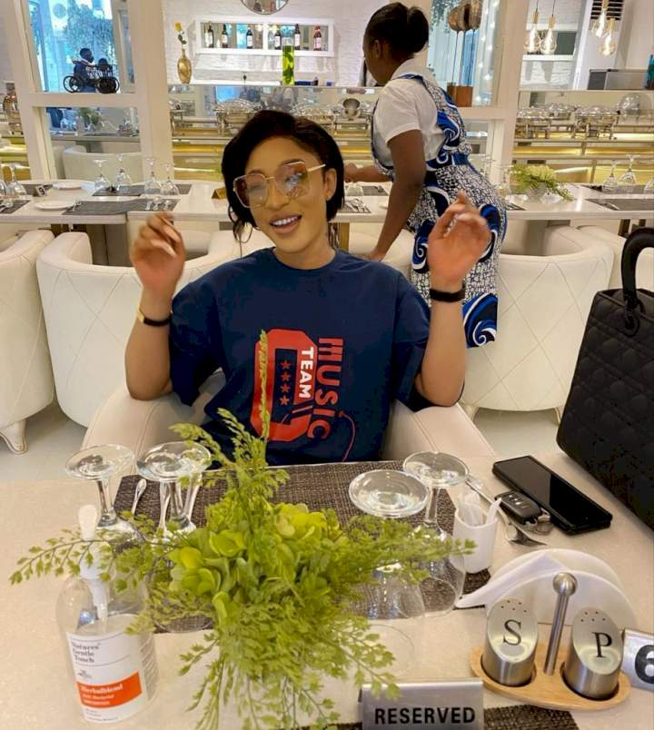 """""""Dear Lord, I can't fall for this"""" - Tonto Dikeh cries out after being tempted by a loan offered by a bank"""