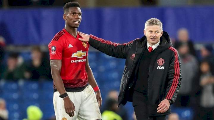 EPL: Pogba clears air on snubbing Solskjaer after Man Utd's 5-0 loss to Liverpool