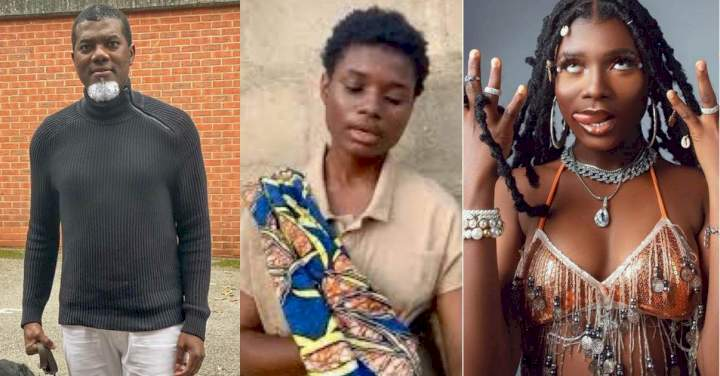 """""""Don't strip her of that undefiled innocence"""" - Reno Omokri reacts to new look of viral street singer"""