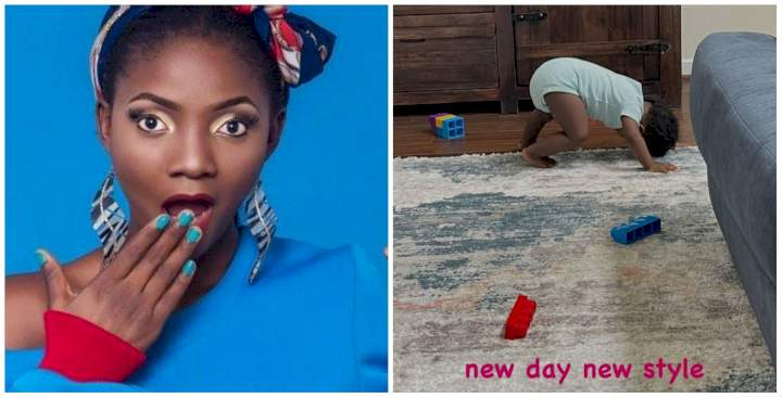 """""""Pregnant ko covenant ni"""" - Simi reacts to claims she could be pregnant over this new photo of Deja"""