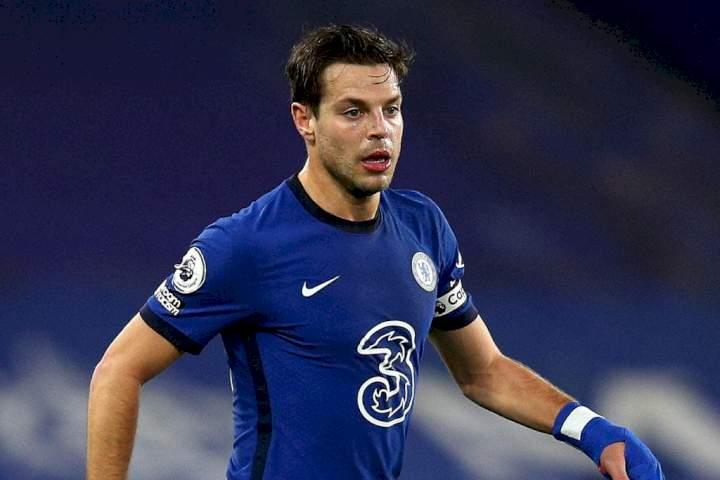 UCL: Cesar Azpilicueta equals Drogba, Lampard's records as Juventus defeated Chelsea