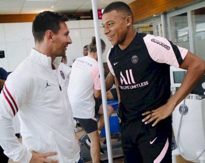I never believed I'd play with Messi - Mbappe