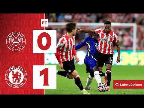 Brentford 0 - 1 Chelsea (Oct-16-2021) Premier League Highlights
