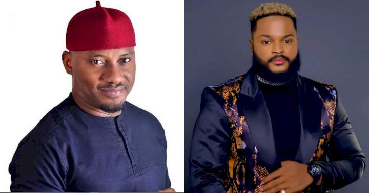 """#BBNaija: """"Na correct guy"""" - Actor, Yul Edochie mobilizes support for Whitemoney"""