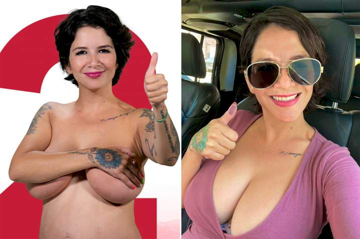 Mexican model-turned-politician offers free boob jobs for women voters if she wins her election
