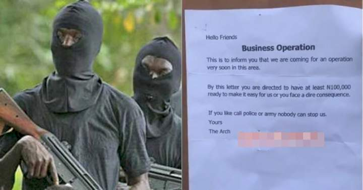 Fear grip residents of Mpape, Abuja as robbers allegedly informs them about an upcoming attack (Video)