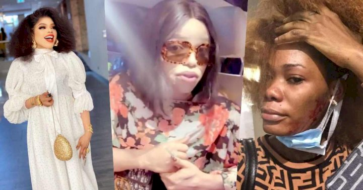 """She's a bloody liar"" - Bobrisky narrates encounter with Ivorian PA who called him out (Video)"