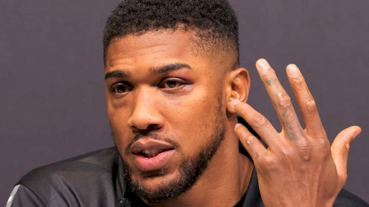I've watched fight against Usyk, learnt my lesson - Anthony Joshua