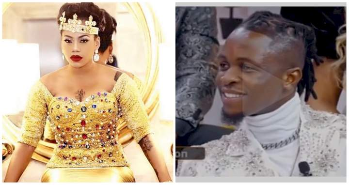 """BBNaija Reunion: """"I will choose him over and over again"""" - Toyin Lawani react to this video of Laycon"""