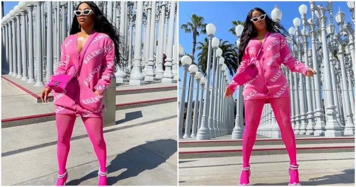 """""""You treat your staff well yet they take you for granted"""" - Toke Makinwa laments"""