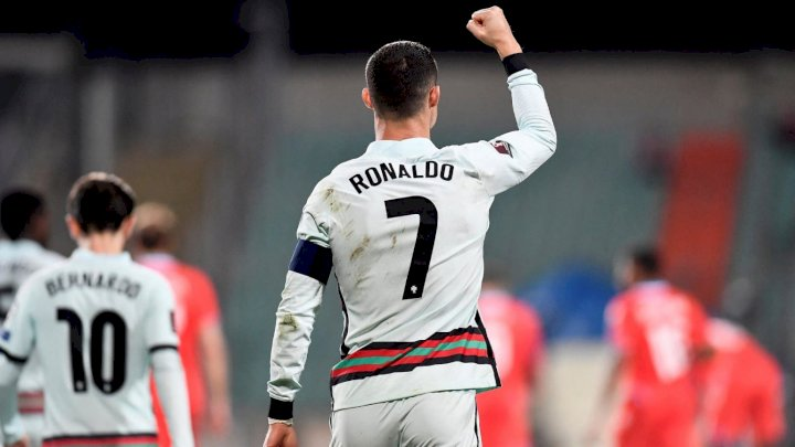 Ronaldo close to breaking Ali Daei's record after Portugal's victory against Luxembourg
