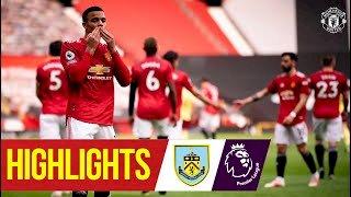 Manchester Utd 3 - 1 Burnley (Apr-18-2021) Premier League Highlights