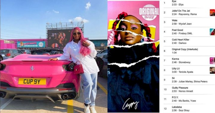 """Before you criticize my songs, take time to listen to my album"" - Dj Cuppy tells critics"