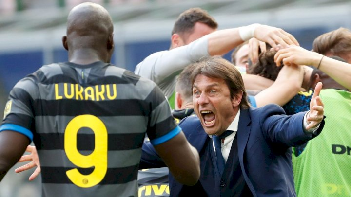 Serie A: We'll go to sleep very happy - Conte reacts as Inter Milan win title