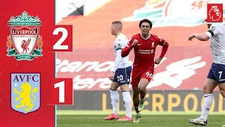 Liverpool 2 - 1 Aston Villa (Apr-10-2021) Premier League Highlights
