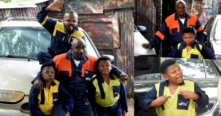 Aki and Pawpaw announce new TV series, Fatty and Son's Autos (Video)