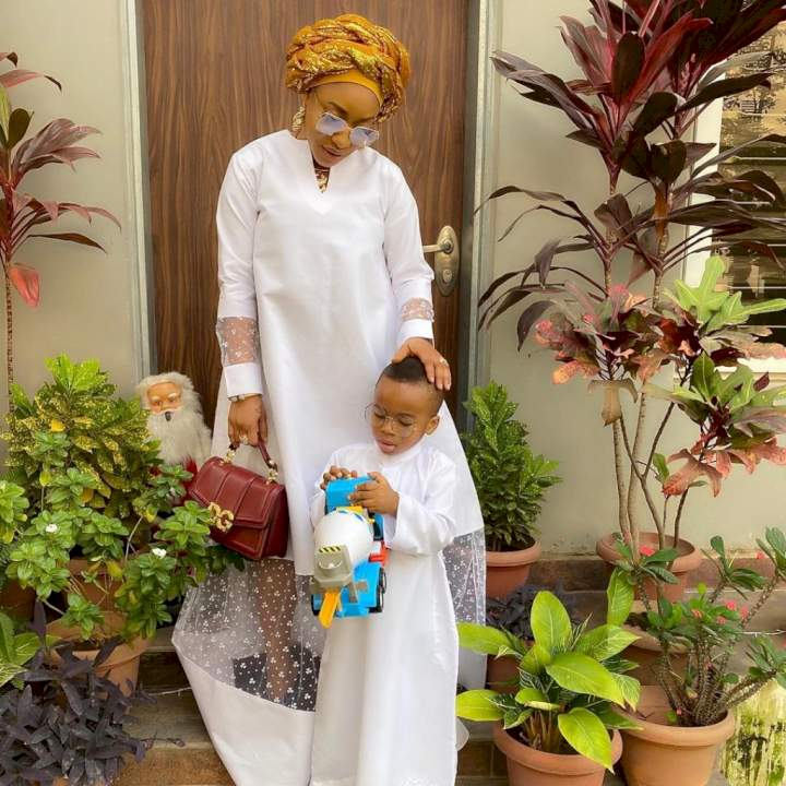 The future of my child and his children are what I live for - Actress, Tonto Dikeh