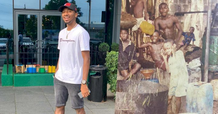 Footballer Nwakali reveals the reason why he should be allowed to wear the latest designers