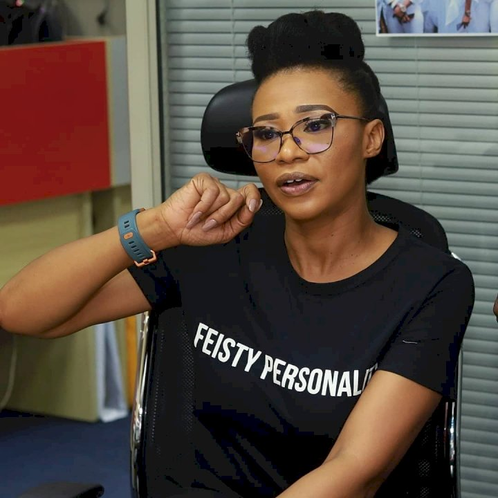 Nse Ikpe-Etim slams follower who asked 'why did you sell out your womb'