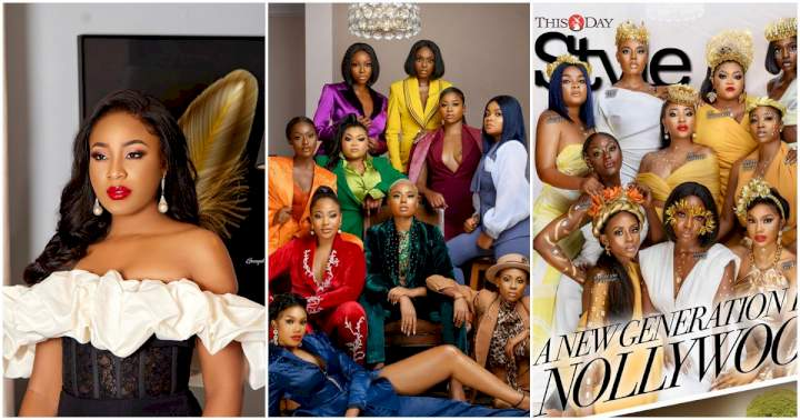 """""""I'm one of the stand-out actresses of this generation"""" - Erica Nlewedim brags as her face hits 'This Day Style Magazine'"""