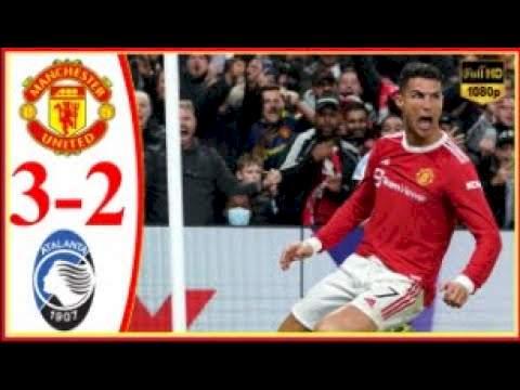 Manchester Utd 3 - 2 Atalanta (Oct-20-2021) UEFA Champions League Highlights