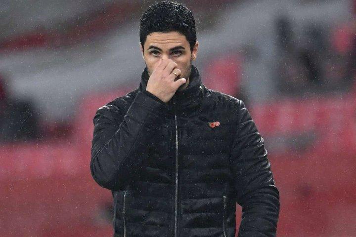 EPL: Enough is enough - Arteta demands VAR answers as Arsenal lose to Everton