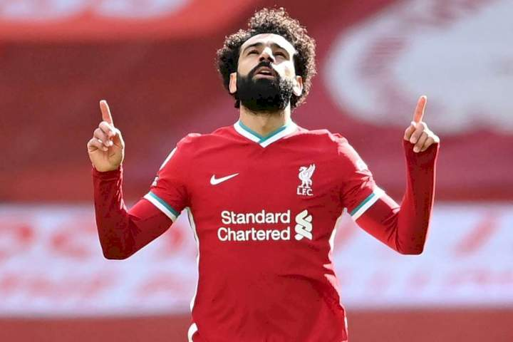 EPL: Salah finally equals Drogba's goals record