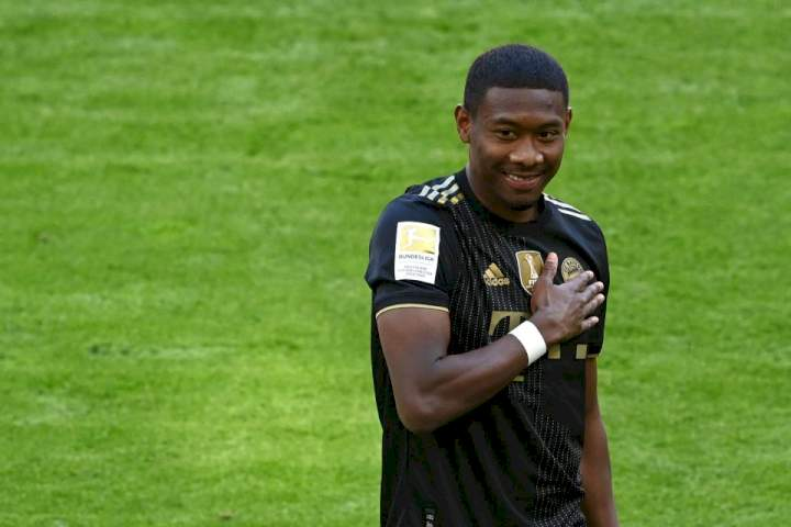 Real Madrid confirm David Alaba signing on free transfer from Bayern Munich