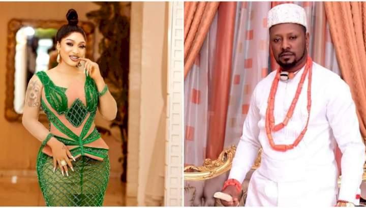 Tonto Dikeh's man, Prince Kpokpogri has secretly paid her bride price