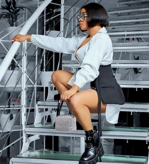 """""""I love to preserve things"""" – OAP, Toke Makinwa says as she flaunts Hermes bags collection (Video)"""