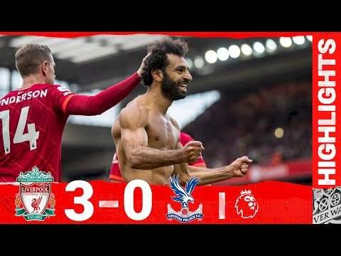 Liverpool 3 - 0 Crystal Palace (Sep-18-2021) Premier League Highlights
