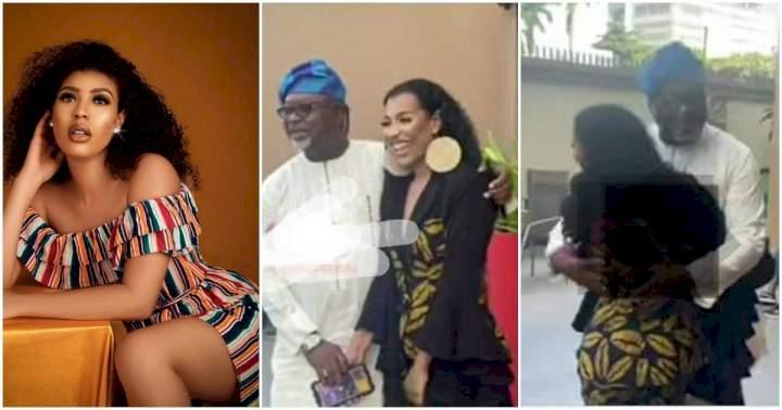 "#BBNaija: ""Wedding bells are ringing soon"" - Reactions as Nini meets Saga's father (Video)"