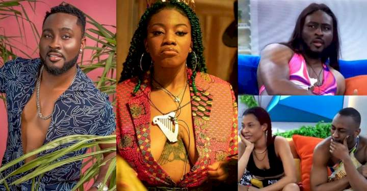 #BBNaija: Angel advises Pere on how to deal with Saga after 'betraying him'
