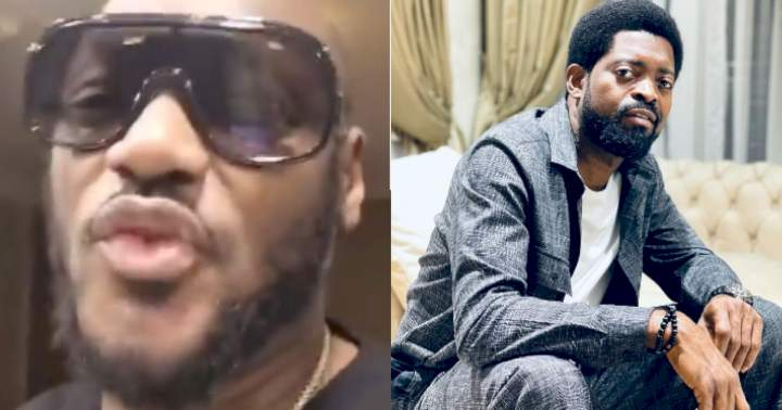 """Tuface Idibia reacts after Basketmouth referred to him as """"my baby"""" in his birthday message"""